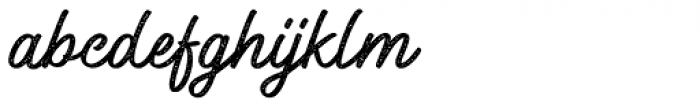 Windtalker Rough Font LOWERCASE
