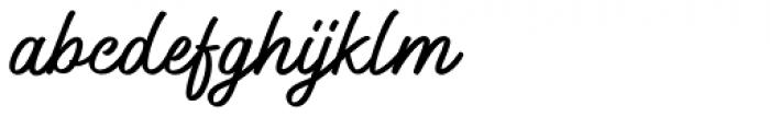 Windtalker Font LOWERCASE