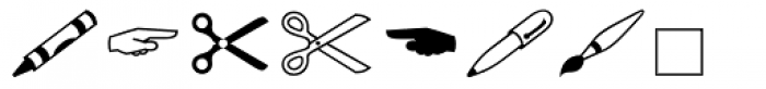 Wingdings 2 Font OTHER CHARS
