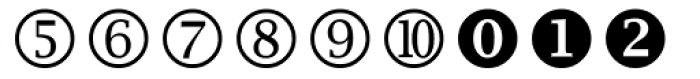 Wingdings 2 Font LOWERCASE