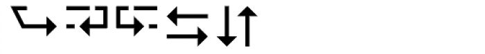 Wingdings 3 Font UPPERCASE