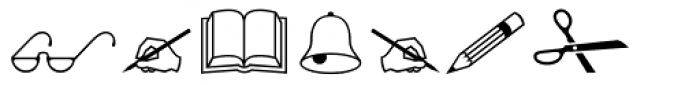 Wingdings Font OTHER CHARS