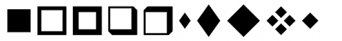 Wingdings Font LOWERCASE