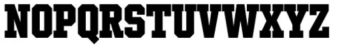 Winner Condensed Extra Bold Font UPPERCASE