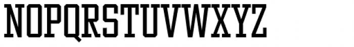 Winner Condensed Regular Font UPPERCASE