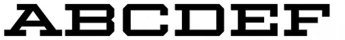 Winner Extended Medium Font UPPERCASE