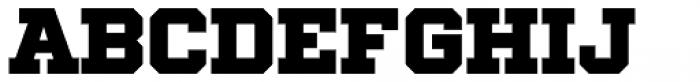 Winner Extra Bold Font LOWERCASE