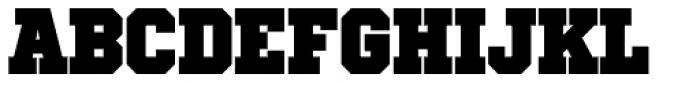 Winner Narrow Black Font UPPERCASE