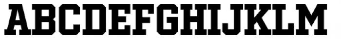 Winner Narrow Bold Font LOWERCASE