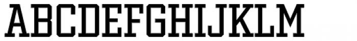 Winner Narrow Regular Font LOWERCASE