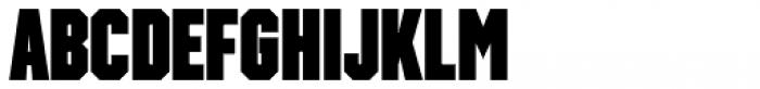 Winner Sans Compressed Black Font LOWERCASE