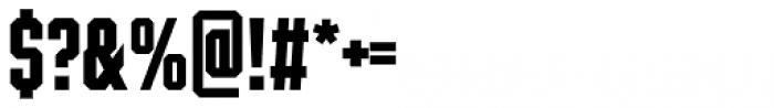 Winner Sans Compressed Bold Font OTHER CHARS