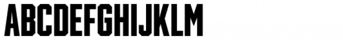 Winner Sans Compressed Bold Font LOWERCASE