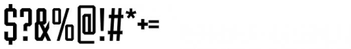 Winner Sans Compressed Regular Font OTHER CHARS