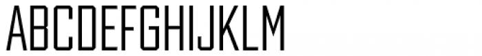 Winner Sans Condensed Light Font UPPERCASE
