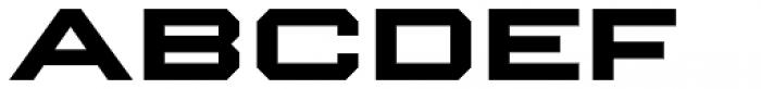 Winner Sans Extended Bold Font LOWERCASE