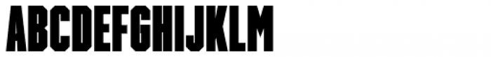 Winner Sans Ultra Compressed Black Font UPPERCASE