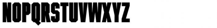 Winner Sans Ultra Compressed Black Font LOWERCASE