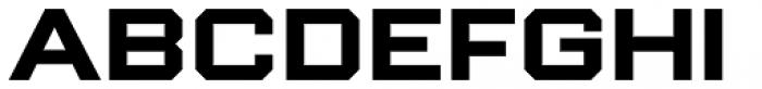 Winner Sans Wide Bold Font LOWERCASE