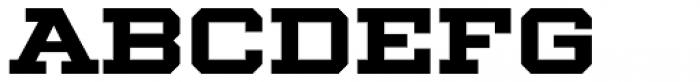 Winner Wide Bold Font LOWERCASE