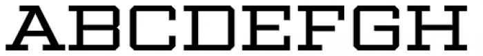 Winner Wide Regular Font UPPERCASE