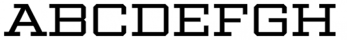 Winner Wide Regular Font LOWERCASE