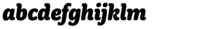 Winnie The Hoop Italic Font LOWERCASE