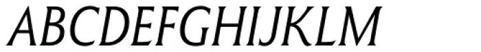 Winsel Condensed Thin Italic Font UPPERCASE