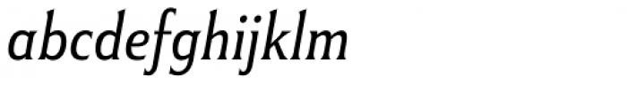Winsel Condensed Thin Italic Font LOWERCASE
