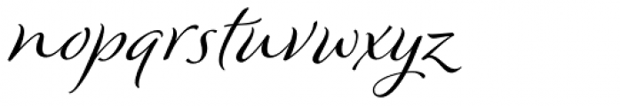 Winsome Font LOWERCASE