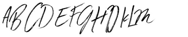 Winter Heart Alternative Font UPPERCASE