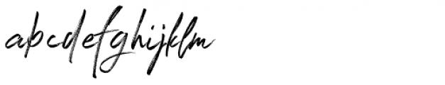 Winter Heart Alternative Font LOWERCASE