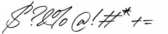 Winterlady Regular Font OTHER CHARS