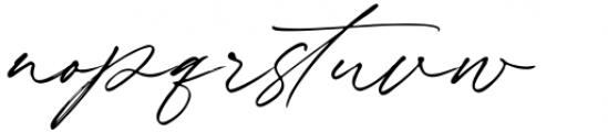 Winterlady Regular Font LOWERCASE