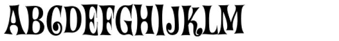 Wintermint Font UPPERCASE