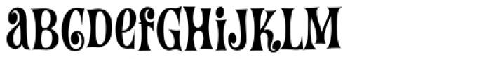 Wintermint Font LOWERCASE