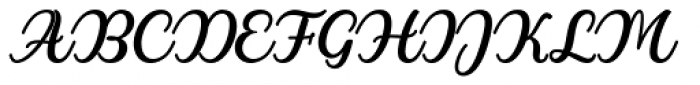 Winters Regular Font UPPERCASE