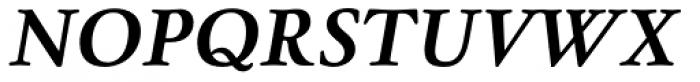 Winthorpe Bold Italic SC Font UPPERCASE
