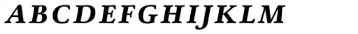 Winthorpe Bold Italic SC Font LOWERCASE