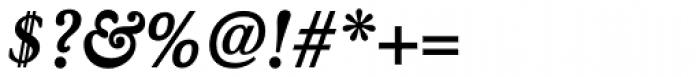 Winthorpe Bold Italic Font OTHER CHARS