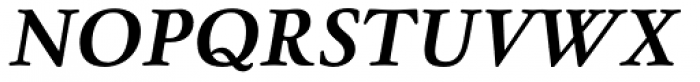 Winthorpe Bold Italic Font UPPERCASE