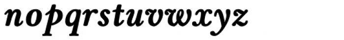 Winthorpe Bold Italic Font LOWERCASE
