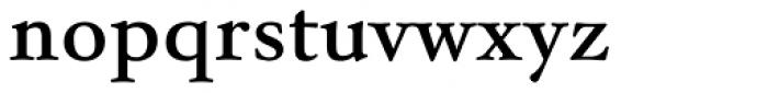 Winthorpe SemiBold Font LOWERCASE