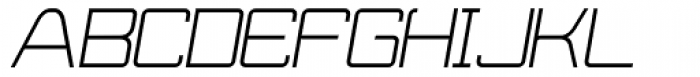 Wired Italic Font UPPERCASE