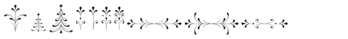 Wishes Script Ornaments Display Regular Font UPPERCASE
