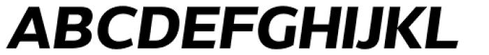 Without Alt Sans Bold Italic Font UPPERCASE