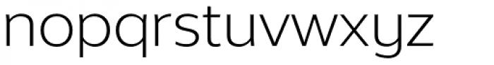 Without Alt Sans Book Font LOWERCASE