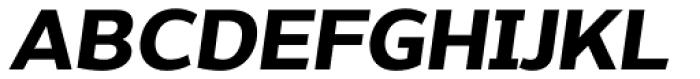 Without Sans Bold Italic Font UPPERCASE
