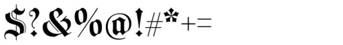 Wittingau Medium Font OTHER CHARS