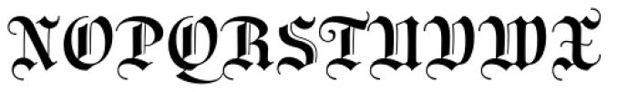 Wittingau Medium Font UPPERCASE